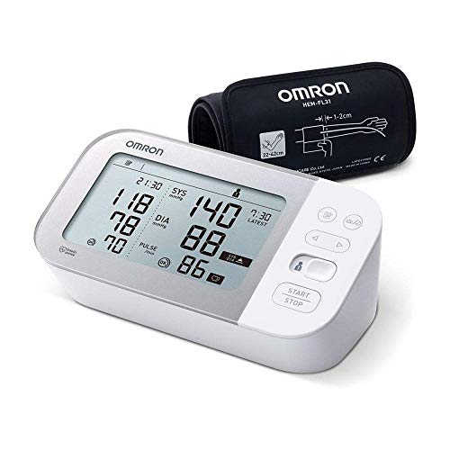 Omron X7 Smart Blutdruckmessgerät – Smartes Blutdruckgerät mit AFib-Erkennung und Bluetooth – Smartphone-kompatibel