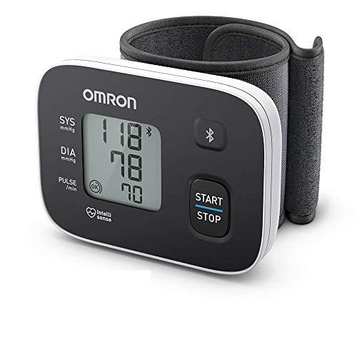 Omron RS3 Intelli IT-Handgelenk-Blutdruckmessgerät – Messgerät zur Überwachung des Blutdrucks – Bluetooth- und Smartphone-kompatibel