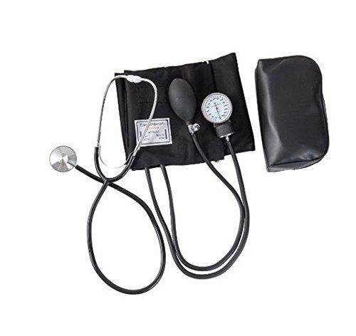 Hensych Home Blut Druck Cuff Kit mit Manuelle Blutdruckmessgerät Stethoskop und Tragetasche