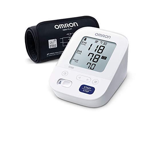 Omron X3 Comfort Blutdruckmessgerät – Messgerät zur Blutdrucküberwachung zu Hause – Mit Intelli Wrap Manschette für präzise Messungen – 'Gut' bei Stiftung Warentest 09/2020