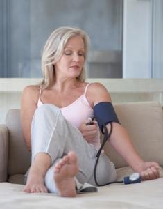 Manuelle Blutdruckmessgeräte im Einsatz