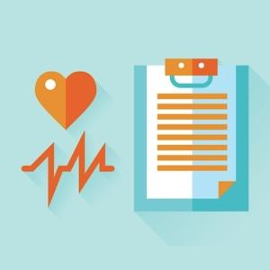 Blutdruckwerte protokollieren im Blutdruckpass